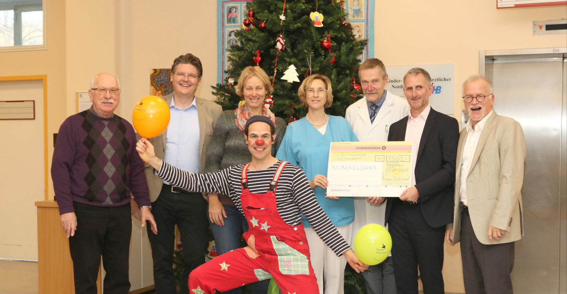 Bremer Klinikclowns Spenden